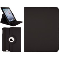 iPad 2, 3, 4 Swivel Stand Case Black