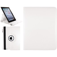 iPad 2, 3, 4 Swivel Stand Case White