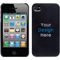 iPhone 4 / 4S Thinshield Snap-On Case - Black