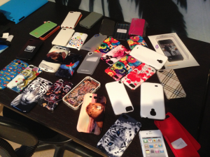 Some of the Case Monkey Sample Phone Cases
